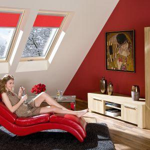 Okno obrotowe FTT U8 Thermo firmy Fakro przeznaczone do budownictwa energooszczędnego oraz pasywnego. Fot. Fakro