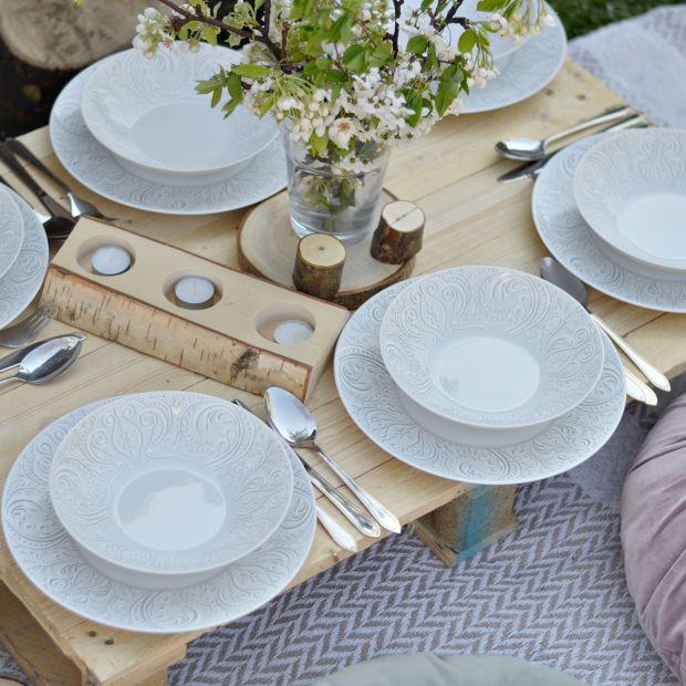 Letnie garden party - piękna porcelana zachwyci gości