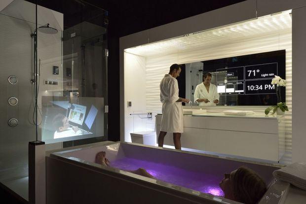 Interaktywne lustro - sprawdzi się w kuchni i  łazience