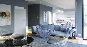 Dobrze dopasowane do wielkości i funkcji pomieszczeni drzwi wewnętrzne nawet w małym wnętrzu zapewnią wrażenie wizualnej lekkości i komfort na co dzień.