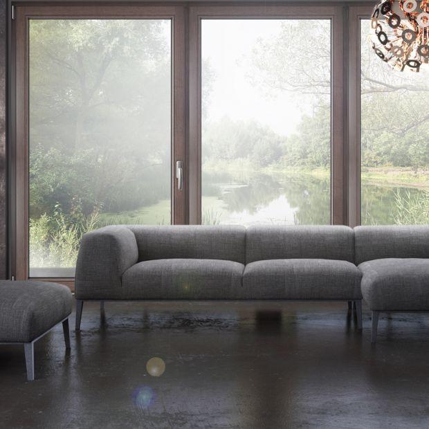 Nowoczesne wnętrza - okna mają znacznie