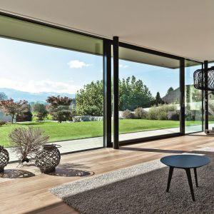 Drzwi Reynaers CP155, proj. Daluz Gonzalez Architekten. Fot. Peter Baracchi
