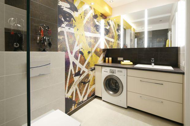 Pralka w łazience - 10 projektów architektów