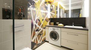 Jak zmieścić pralkę w łazience? Zobaczcie gotowe realizacje z polskich domów.