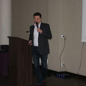 25 lat marki Porta. Prezentacja firmy Bel-Pol, partnera marki Porta. Prowadzący Robert Wołek. Fot. Publikator