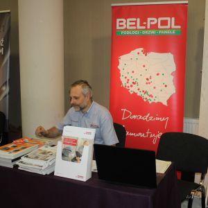 Stoisko firmy Bel-Pol, partnera marki Porta. Fot. Publikator