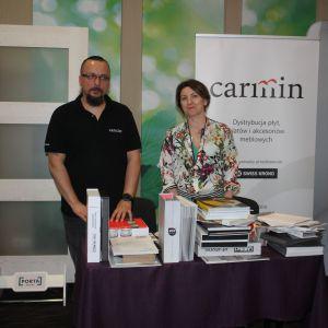 Stoisko firmy Carmin, partnera marki Rejs. Fot. Publikator