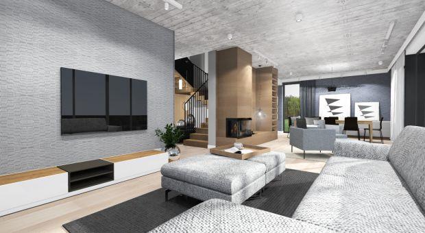 Funkcjonalny i przestrzenny dom w nowoczesnym stylu