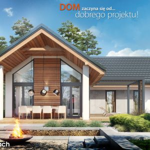 "Projekt ""Domu w marzankach"". Fot. ARCHON+"