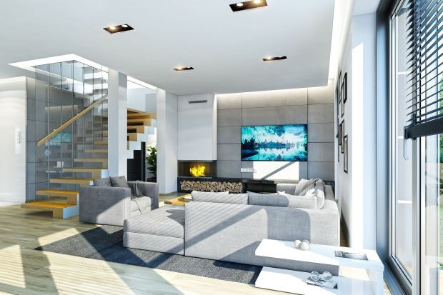 Duży dom dla rodziny - zobacz projekt i wnętrza