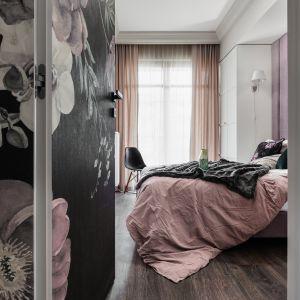 Mieszkanie z motywem kwiatowym we wnętrzu. Projekt: JT Grupa. Zdjęcia: Foto&Mohito