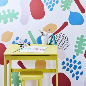 Kolor w pokoju dziecka - malujemy ściany. Fot. Annie Sloan