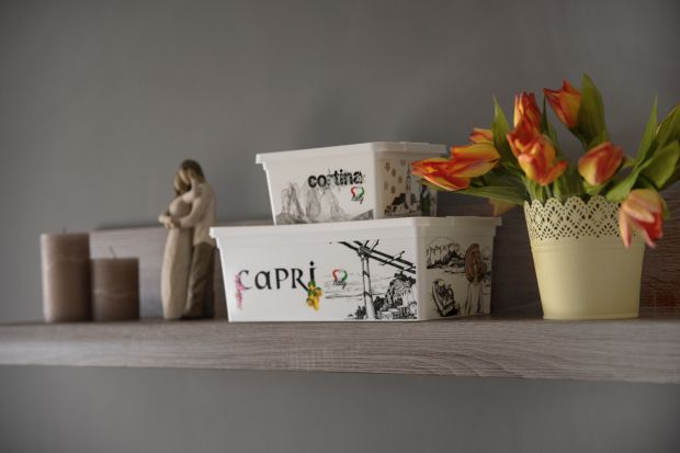 Przechowywanie w domu - zobacz stylowe pojemniki
