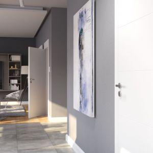 Modne drzwi wewnętrzne. Na zdjęciu drzwi Porta Vector Premium. Fot. Porta