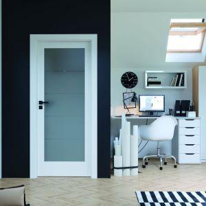 Modne drzwi wewnętrzne. Na zdjęciu drzwi Porta Verte Home. Fot. Porta