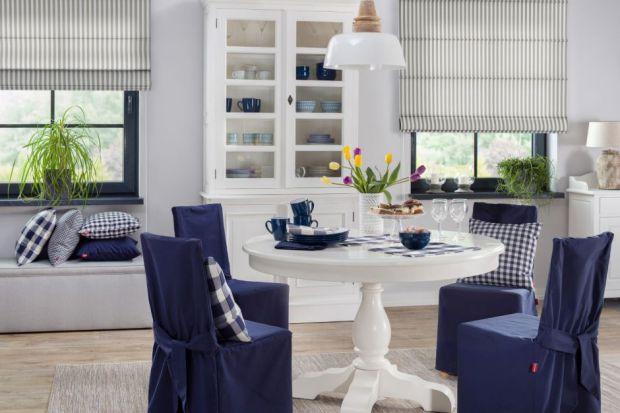 Wnętrze w stylu Hamptons - postaw na tekstylia i dodatki