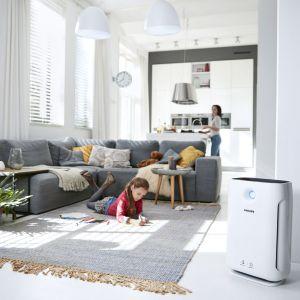Oczyszczacze powietrza obniżają stężenie alergenów i pomagają kontrolować jakość powietrza. Fot.  Philips