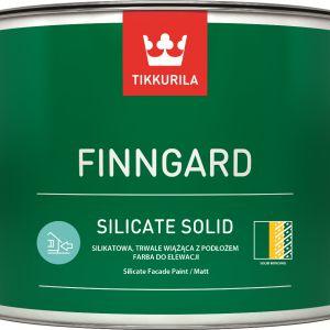 Zestaw produktów z najnowszej serii Tikkurila Finngard, przeznaczonych do malowania i zabezpieczania elewacji mineralnych. Fot. Tikkurila