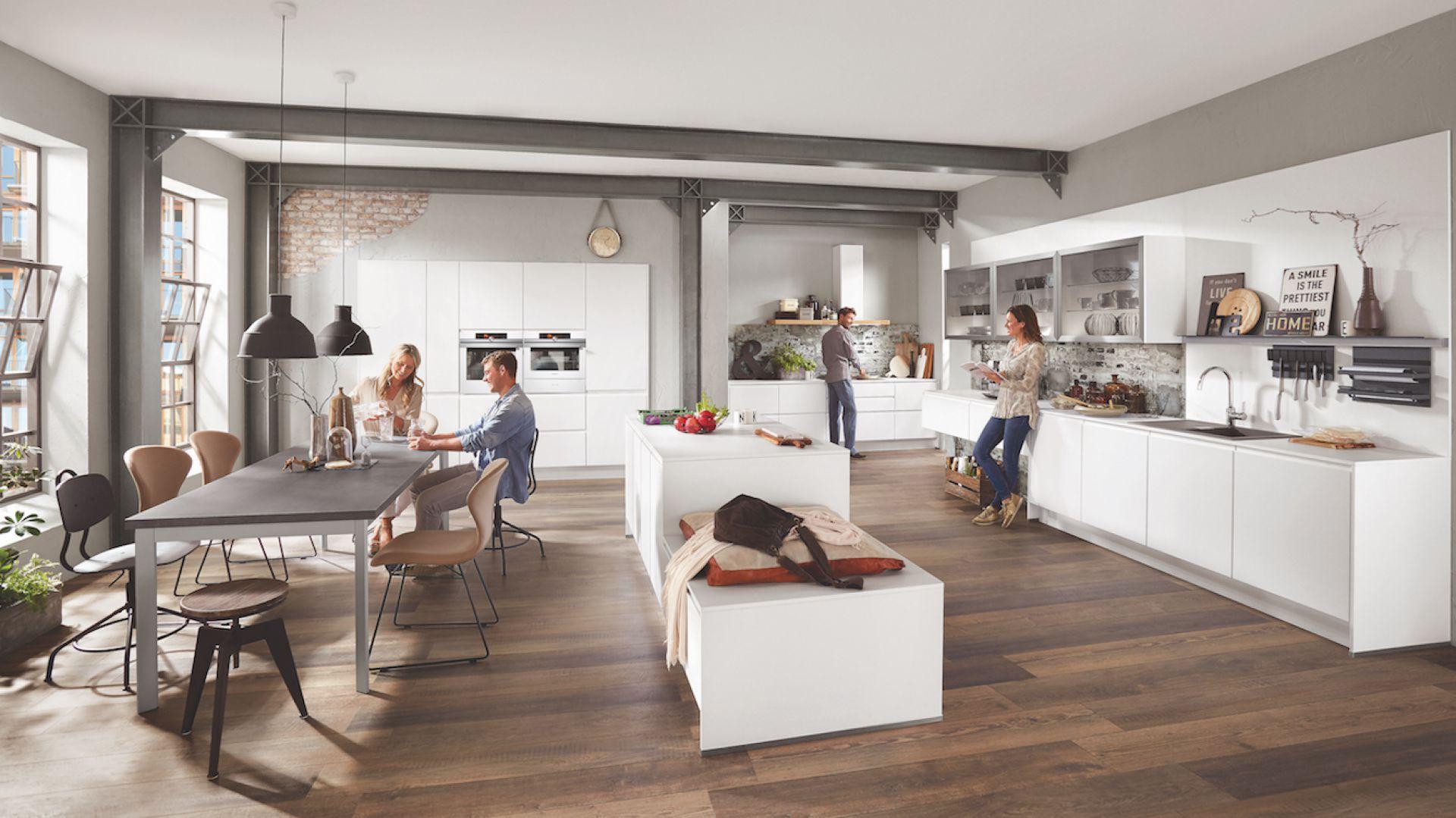 Kuchnia towarzyska: model nline 551. Fot. Verle Küchen