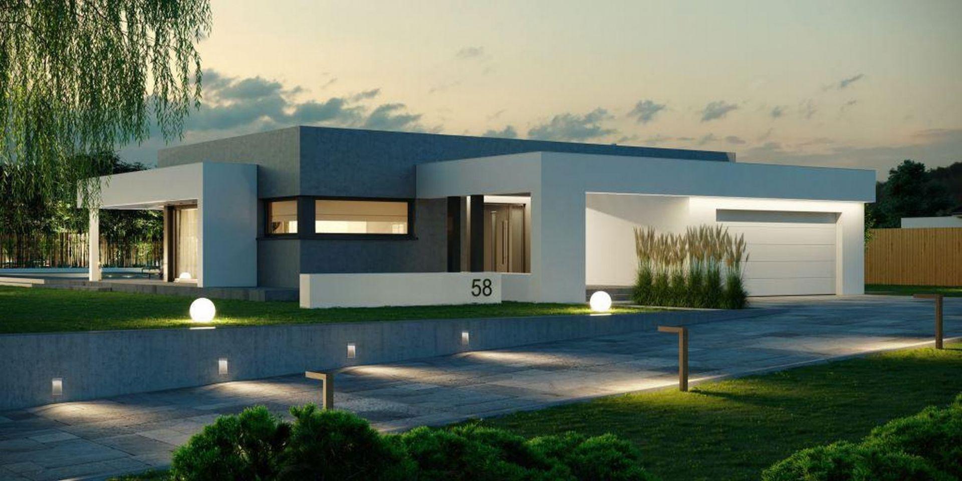 Wybieramy projekt domu - porady eksperta. Projekt: HomeKONCEPT 58. Fot. HomeKONCEPT