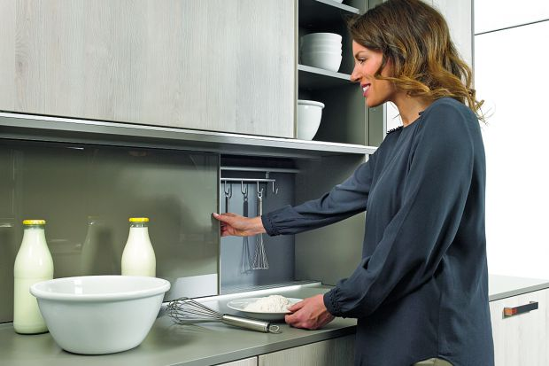 Mała kuchnia - 15 pomysłów na przechowywanie