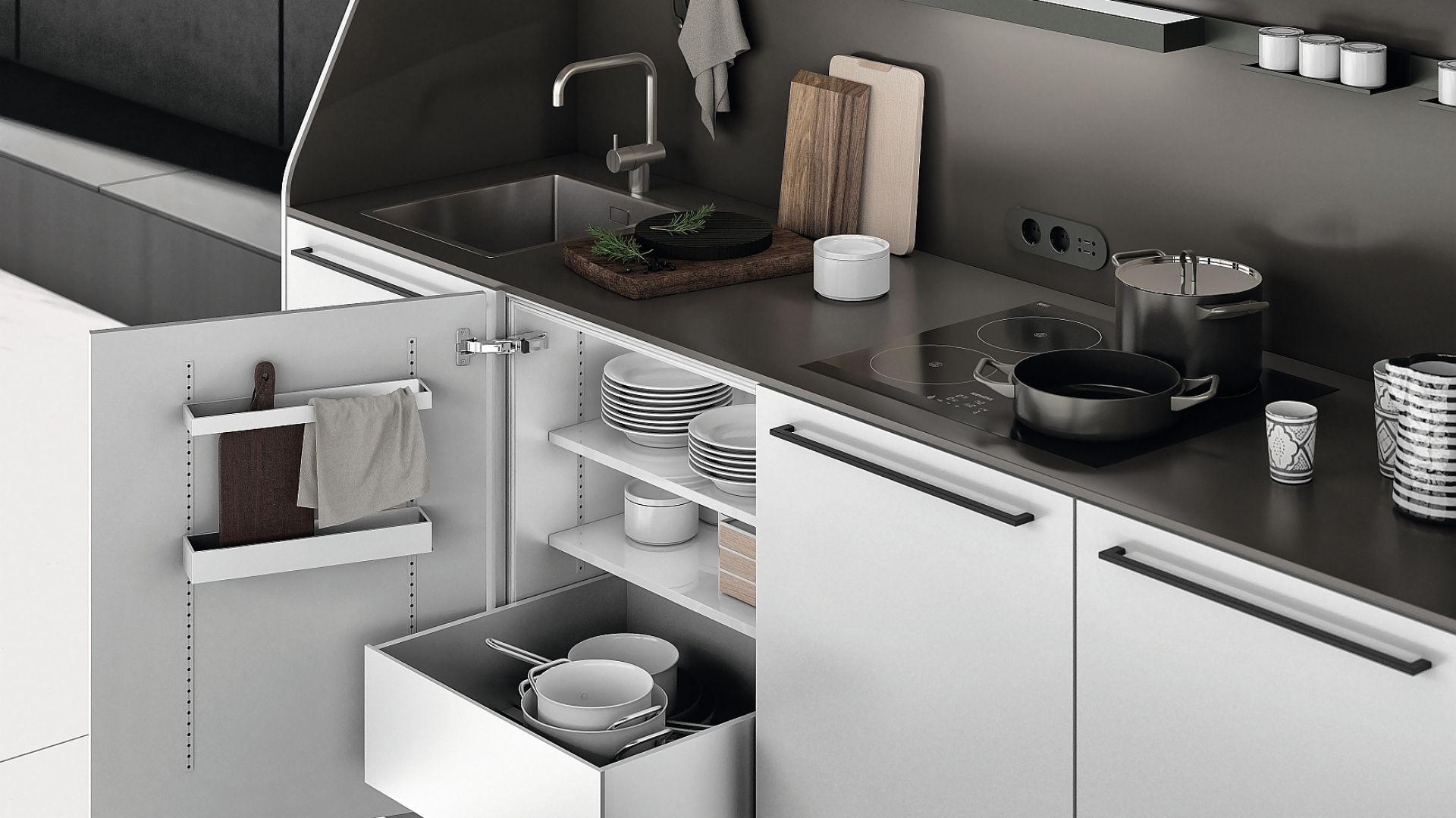 Mała Kuchnia 15 Pomysłów Na Przechowywanie