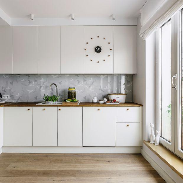 Piękna biała kuchnia - zobacz wyjątkowy projekt