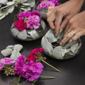 Letnia dekoracja stołu. Fot. Pelargonium for Europe