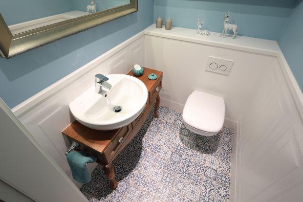 Niewielka toaleta - zobacz ciekawy projekt