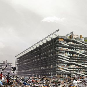 Projekt Porozmawiajmy o śmieciach był pracą dyplomową Hugon Kowalskiego, nagrodzoną prestiżowym wyróżnieniem Archiprix International Hunter Douglas Awards. Fot. UGO Architecture