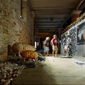 Let's Talk About Garbage to projekt stworzony przez Hugona Kowalskiego i Marcina Szczelinę podczas 15. edycji Międzynarodowego Biennale Architektury w Wenecji. Fot. Bartek Barczyk / IKEA