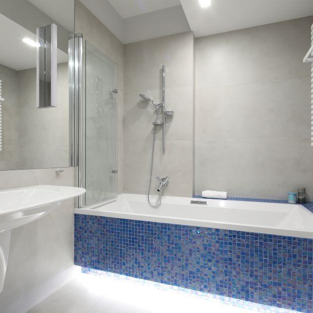 Mozaika w łazience: piękne projekty architektów