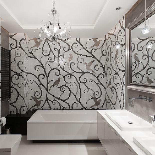 Rodzinna łazienka - piękny projekt wnętrza