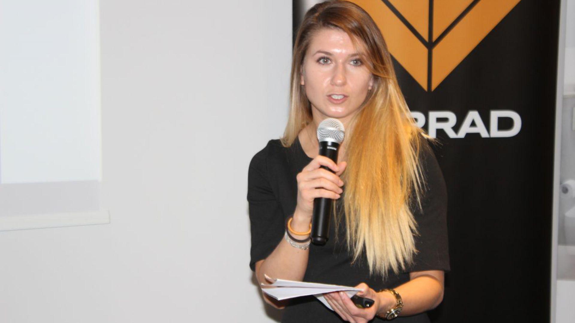 Magdalena Błażejczyk z firmy Elkamino Dom