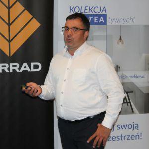 Krzysztof Kopyczyński z firmy Finishparkiet