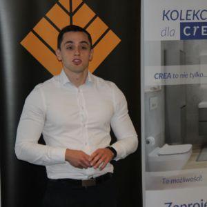 Marcin Wojciechowski z firmy SFA Poland