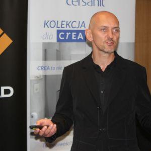 Piotr Wełniak - gość specjalny Studia Dobrych Rozwiązań w Poznaniu