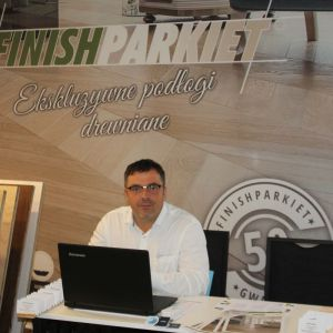 Stoisko firmy Finishparkiet