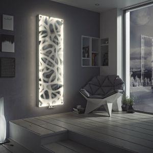 Wielofunkcyjny polski design. Grzejnik Niagara LED. Fot. Luxrad