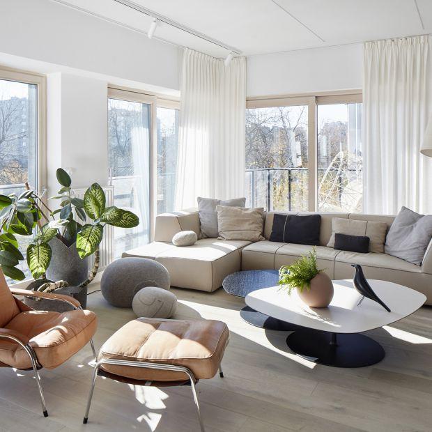 Nowoczesne mieszkanie jak spod linijki - interesujący projekt