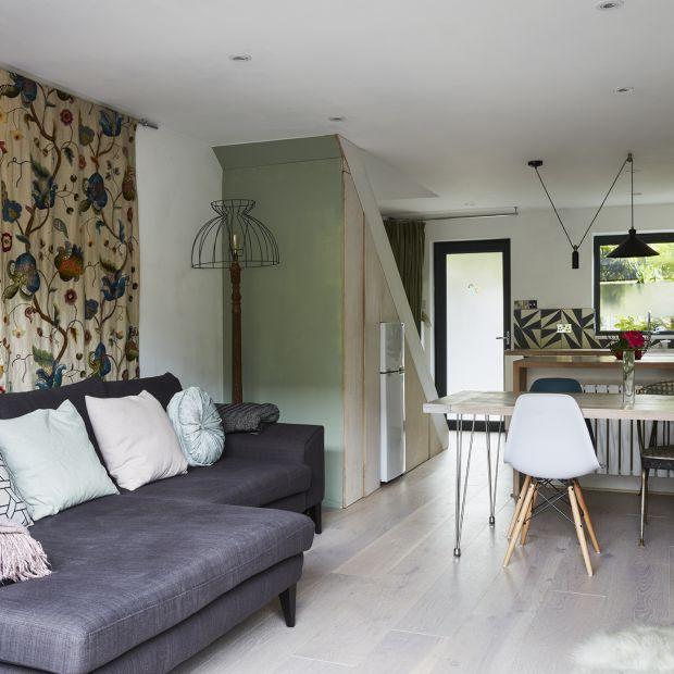 Małe mieszkanie w londyńskiej kamienicy - inteligentna adaptacja