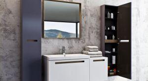 Meble łazienkowe Senso zachwycają subtelnym połączeniem elegancji lakieru z delikatną strukturą dekoru.