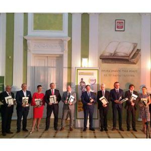 Uroczystość wręczenia nagród odbyła się 8 czewrca w Warszawie. Fot. NIBE-BIAWAR