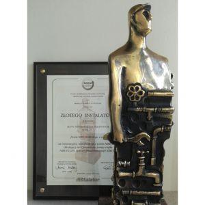 Nagrodę przyznano za innowacyjny system NIBE dla domu bez kosztów i smogu. Fot. NIBE-BIAWAR