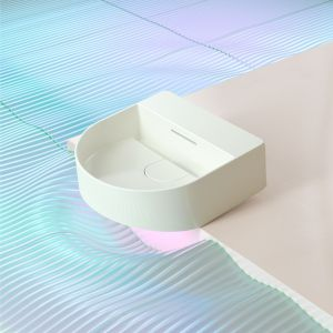 Nowoczesna łazienka - kolekcja ceramiki łazienkowej Laufen Sonar. Fot. Laufen