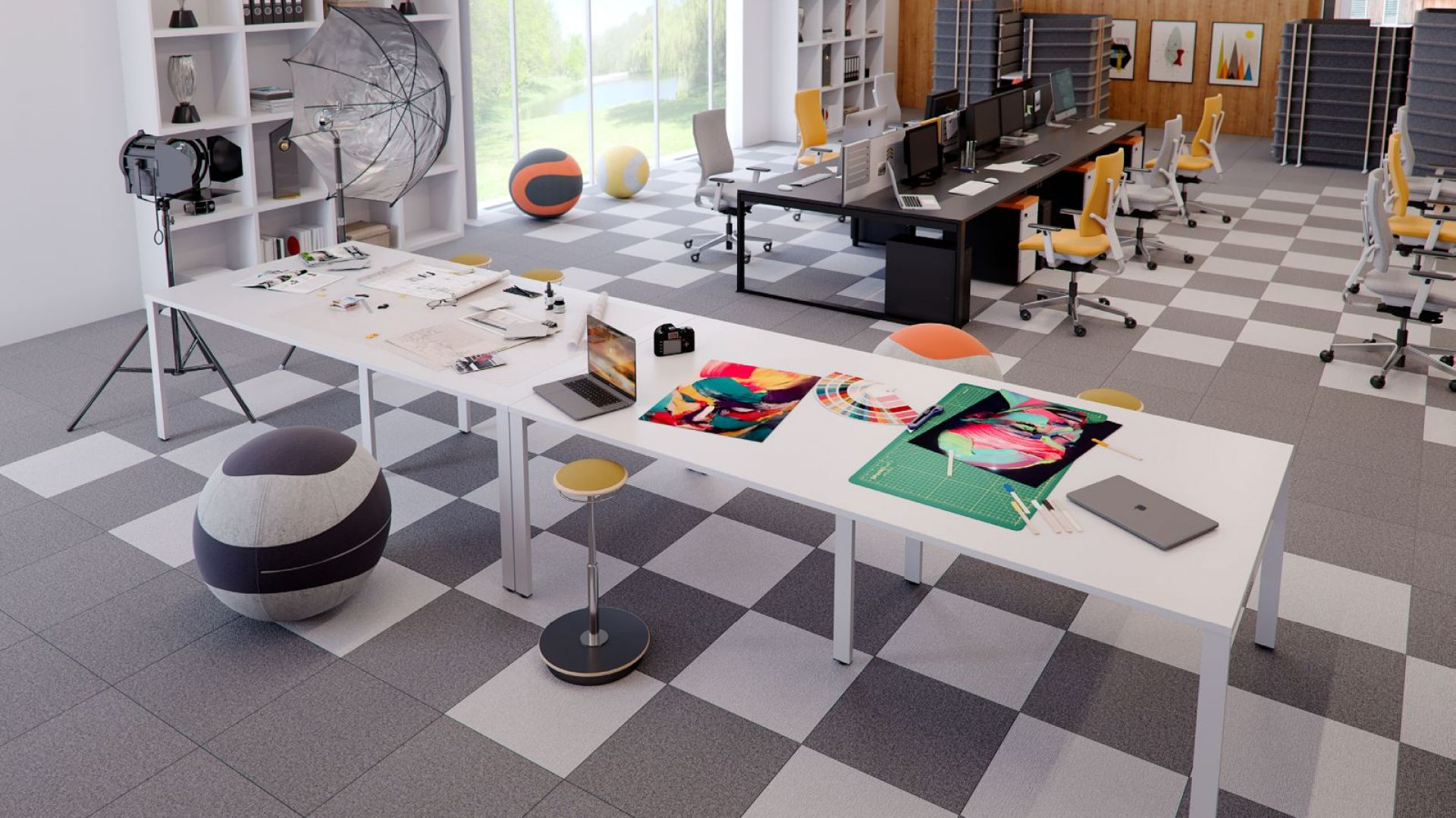 Aranżacja biura. Fot. Everspace
