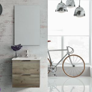 Street to kolekcja mebli dla osób żyjących w ciągłym ruchu; kolorystyka: biel, anthracite oraz dąb craft (struktura). Fot. Elita
