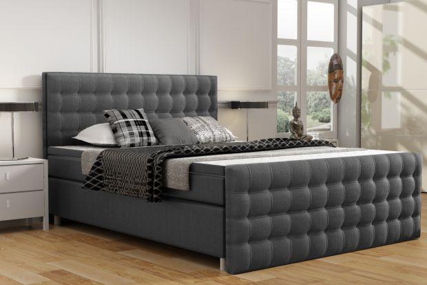Meble do sypialni - łóżko w amerykańskim stylu