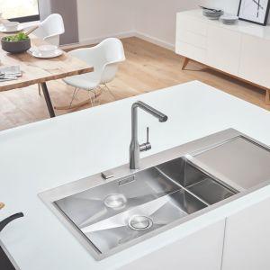 Strefa zmywania - zlewozmywaki w kuchni. Fot. Grohe
