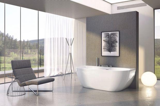 Wanny wolnostojące od lat są uznawane za synonim luksusu. Dominujące w przestrzeni nadają kształt całemu wnętrzu, które skupia się wokół wanny.